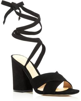 Kuriel Ankle Tie High Heel Sandals