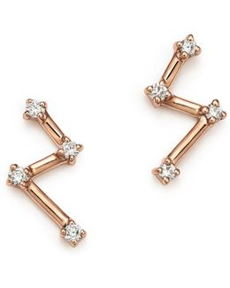 14k Rose Gold Jemma Morgan Stud
