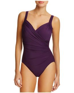 Must Have Sanibel Ruched One Piece Swimsuit