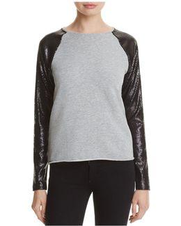 Zenia Sequin Pullover