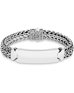 Sterling Silver Classic Chain Id Bracelet