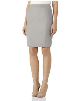 Kent Tailored Skirt