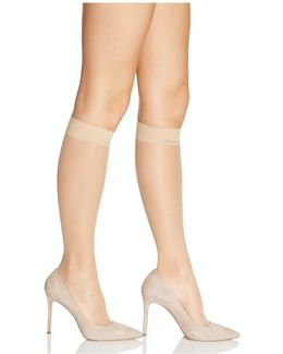 Matte Ultra Sheer Knee-highs