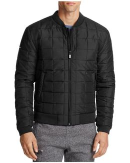Surplus Goods Box Quilted Bomber Jacket