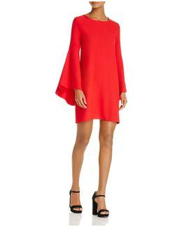Bell Sleeve A-line Dress