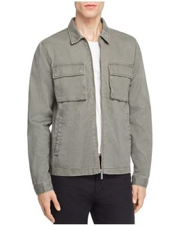 Lieutenant Herringbone Shirt Jacket