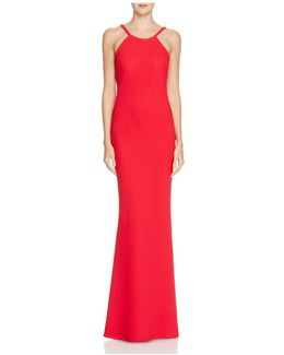 Scoop Back Gown