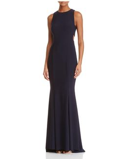 Cutout Side Gown