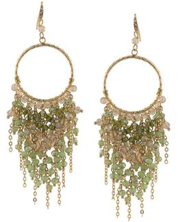 Beaded Chandelier Drop Earrings