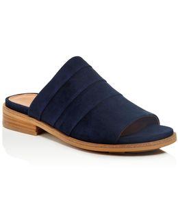 Suede Gayle Slide Sandals