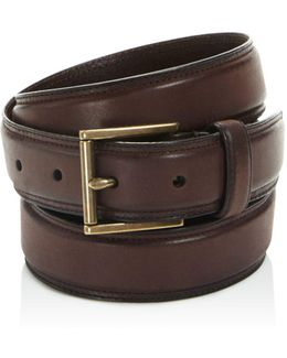 Double Stitched Pressed Edge Belt