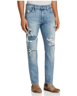 Slim Fit Jeans In Dismantle