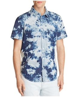 Tie Dye Regular Fit Button-down Shirt