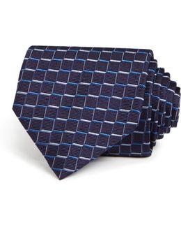 Multi Geo Print Classic Tie