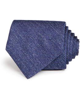 Heathered Stripe Classic Tie