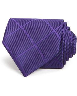 Diamond Check Classic Tie