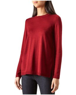 Cassidy Merino Wool-blend Sweater