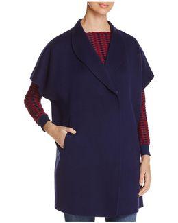 Cap-sleeve Coat