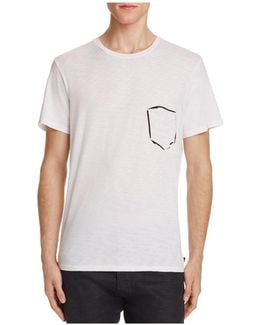Painted Pocket Graphic Tee