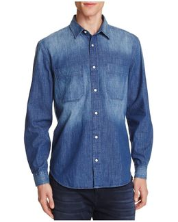 Indigo Denim Regular Fit Button-down Shirt