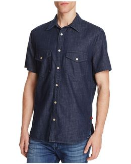 Denim Regular Fit Button-down Shirt