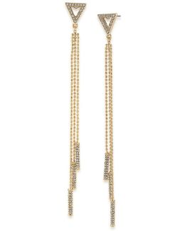 Chain & Bar Drop Earrings
