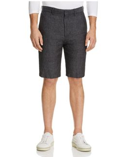 Linen Relaxed Fit Shorts