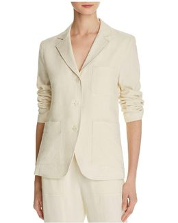 Linen & Silk Blazer
