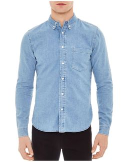 Heritage Classic Fit Button-down Shirt