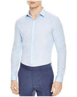 Seamless Stretch Slim Fit Button-down Shirt