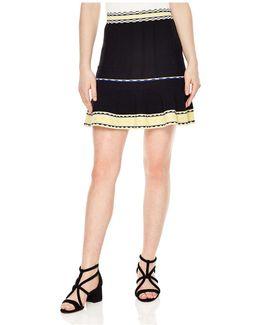 Esfir Stitch Detail Mini Skirt