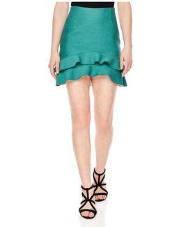 Toby Tiered Mini Skirt