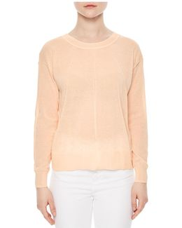 Ania Open-back Sweater