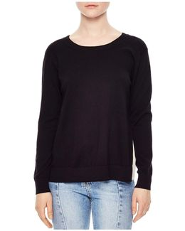 Ipolit Silk-back Sweater