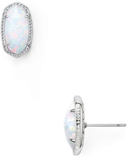 Ellie Kyocera Opal Earrings