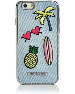 Luxe Double Up California Icon Patch Iphone 7 Case