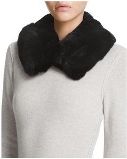 Rabbit Fur Collar