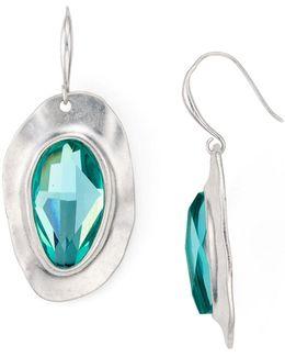 Faceted Drop Earrings
