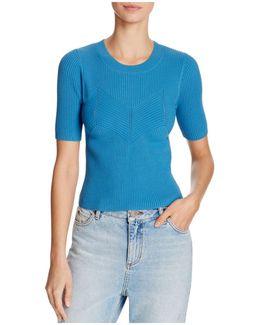 Aglaya Ribbed Sweater