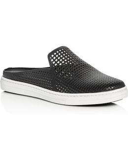 Rina Perforated Mule Sneakers