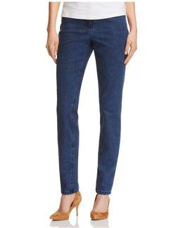 Julienne Jeans In Dark Blue
