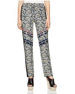 Ryen Paisley-print Pants