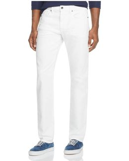 Kinetic Collection Brixton Straight Fit Jeans In Ronan