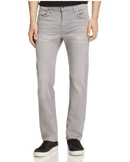 Brixton Kinetic Collection Straight Fit Jeans In Wolfe