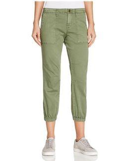 Peace Trooper Cargo Capri Pants
