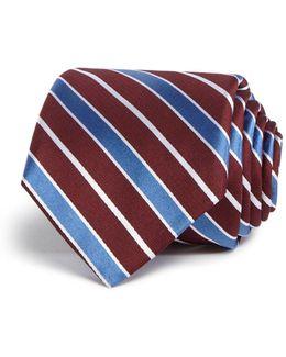Wide Stripe Classic Tie