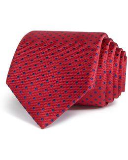 Stitch Dot Classic Tie