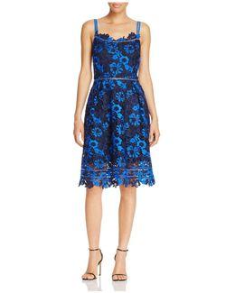 Lucile Floral Lace Dress