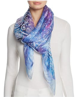 The Mistral Square Silk Scarf