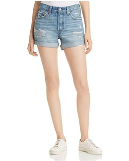 501® Cuffed Shorts In Highway Blues